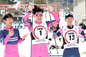 12年ぶり男子総合V 距離30kmクラシカル 表彰台独占!! 全日本学生スキー選手権